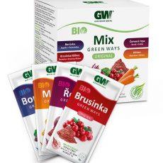 BIO MIX Červená řepa, mrkev, brusinka, borůvka 200 g